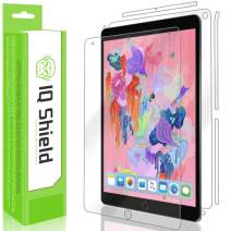 IQ Shield Full Body Skin Compatible with Apple iPad Air (10.5 inch)(2019, iPad Air 3) + LiQuidSkin Clear (Full Coverage) Screen Protector HD and Anti-Bubble Film