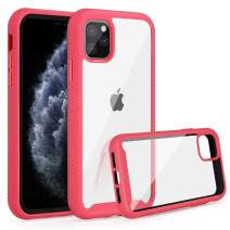 Jelanry Heavy Duty Armor for iPhone 11 Pro Case 2-Layer Full Body Protective Shell Shockproof Sports Anti-Scratch Non-Slip Bumper Rugged Cover Hybrid Case for iPhone 11 Pro 5.8inch Pink