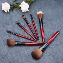 Makeup Brushes set Wooden Handle Series Professional Premium Synthetic Foundation Powder Brushes Concealers Eyeshadow Brushes With Fine bag
