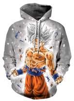 Azuki Men's/Women's Patterns Print Athletic Sweaters Fashion Hoodies Sweatshirts XL