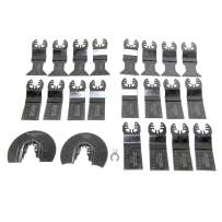MacWork 23-Piece Professional Oscillating Saw Blades Metal/Wood Multitool Blades Quick Release Cutting Blade Fits for Black&Decker Craftsman DeWalt Dremel Ridgid Skil Milwaukee Rockwell Worx and More