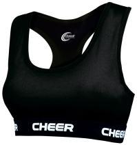 C-Prime Cheer Sports Bra Black X-Large