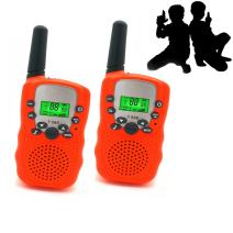 JRD&BS WINL Toys for 3-12 Year Old Girls, Walkie Talkies for Kids Toys for 3-12 Year Old Boys Toys Gifts for Teen Boys Gifts for Teen Girls Birthday Gifts (Orange01)
