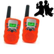 JRD&BS WINL Toys for 3-12 Year Old Girls, Walkie Talkies for Kids Toys for 3-12 Year Old Boys Toys Gifts for Teen Boys Gifts for Teen Girls Birthday Gifts (Orange01)
