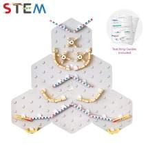 ORIBEL VertiPlay STEM Marble Run School Set   Learning Toy   Stick & Play Wall Toy
