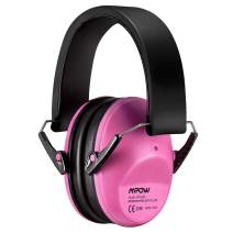 Mpow 068 Kids Ear Protection, NRR 25dB Noise Reduction Ear Muffs, Toddler Ear Protection, Protective Earmuffs for Shooting Range Hunting Season, for Toddlers Kids Children Teens-Great Pink