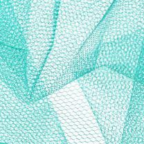 Falk Fabrics Nylon Net Aqua Fabric By The Yard