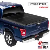 "BAK BAKFlip FiberMax Hard Folding Truck Bed Tonneau Cover | 1126207 | Fits 2009-20 Dodge Ram 2019 2500-3500 5'7"" Bed"