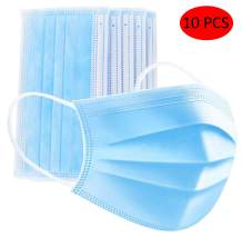 UTOTEBAG Masks 3 Layer Protective Face & Mouth Cover,Blue
