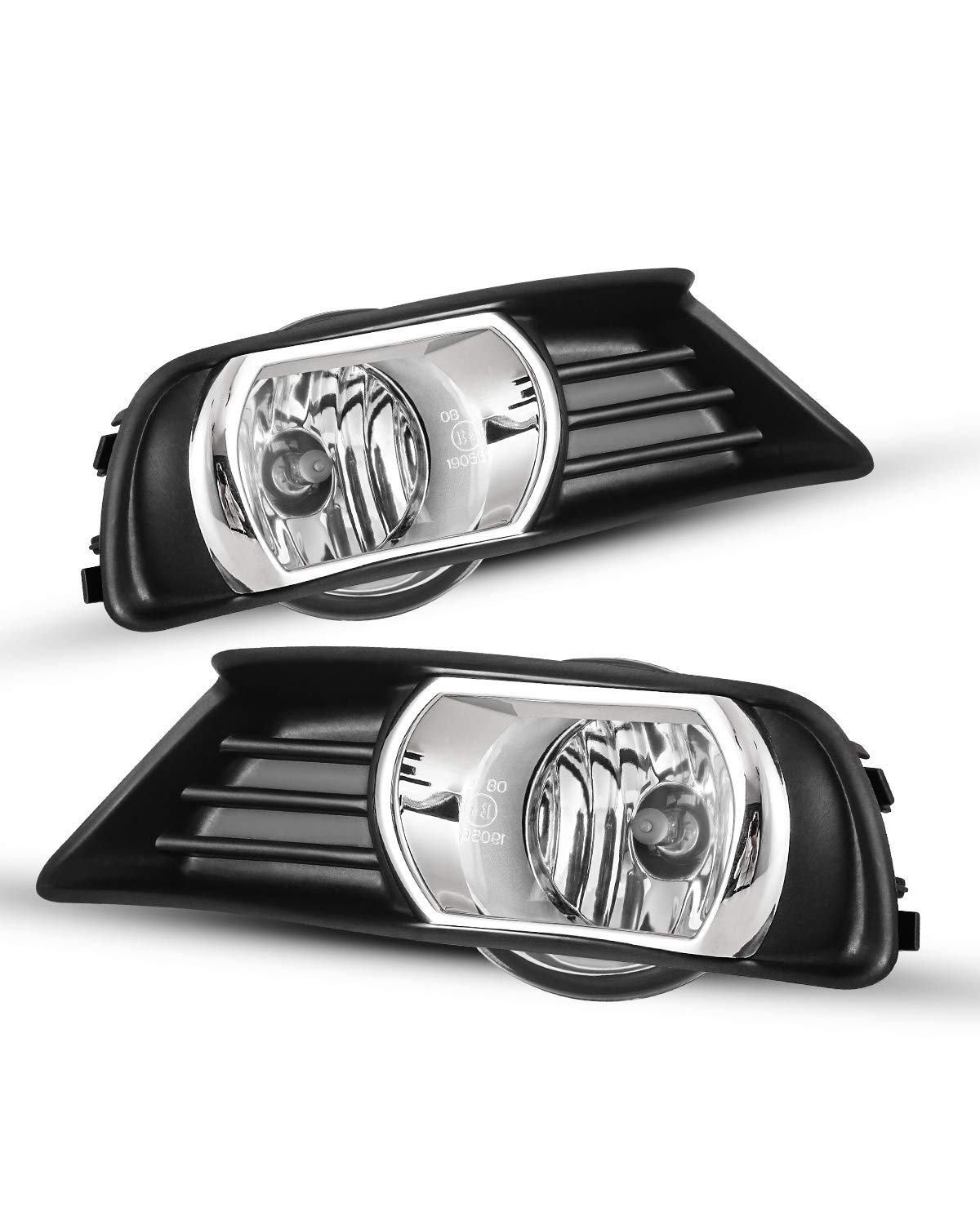 Fog Lights For 2007-2009 Toyota Camry (Only for US model) OEM Replacement Fog Lamps 2PCS With Clear Lens AUTOWIKI
