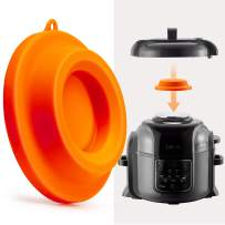 Goldlion Lid Stand Silicone Lid Holder Accessories Compatible with Ninja Foodi Pressure Cooker and Air Fryer 5 Qt, 6.5 Qt and 8 Quart, Orange