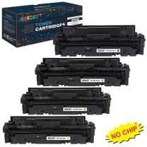 ACEJET Compatible 414A Toner Cartridge Replacement for HP 414a 414X W2020A W2021A W2022A W2023A Toner Cartridge for Use in HP Color Laserjet Pro M454 MFP M479 Printer(Black/Cyan/Magenta/Yellow) 4-Pack
