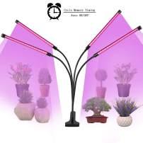 UMEXUS Plant Grow Light, 2020 Upgraded 4 Heads LED Sanitizer for Indoor Plant, Germ-Killing Function LED Plant Lamp