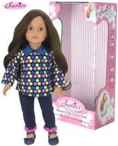 Sophia's 18 Inch Doll Catherine, 18 Inch Brunette Doll, Jointed Arms/Legs & Soft Body, Brand Doll