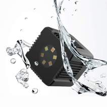 Moin Mini Cube Led Light Magnetic Charging and Mount Anywhere Pocket Light Camping Hiking Outdoor Adventure Waterproof Underwater Light APP Control for Gopro DSLR Drone Action Camera Smartphone
