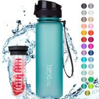 "720°DGREE Water Bottle""uberBottle"" +Fruit Infuser - 500ml - BPA-Free, Leakproof - Reusable Tritan Sports Bottle for Fitness, Workout, Bike, Outdoor, Yoga - Lightweight, Unbreakable, Sustainable"