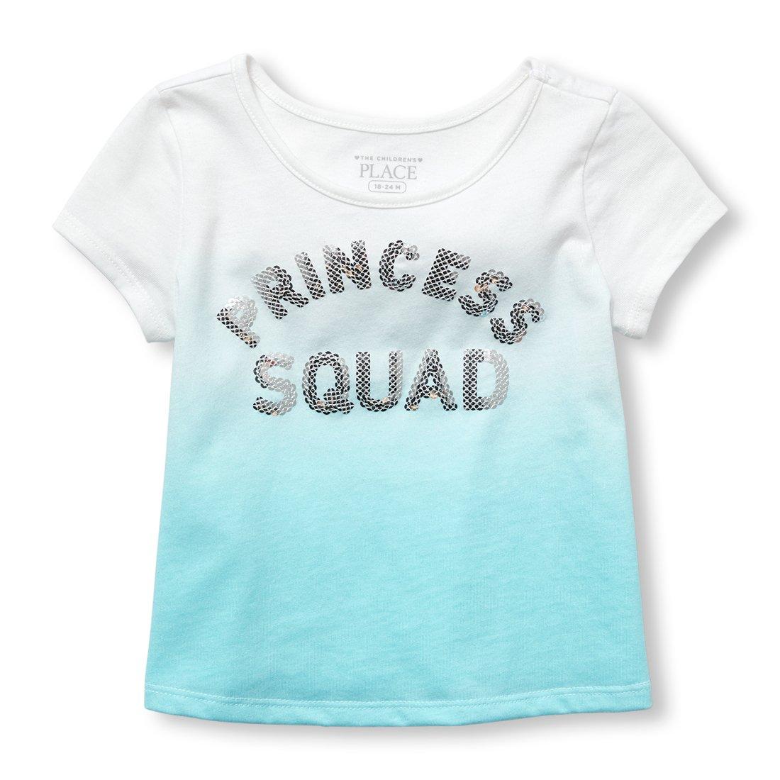 The Children's Place Girls' Short Sleeve T-Shirt