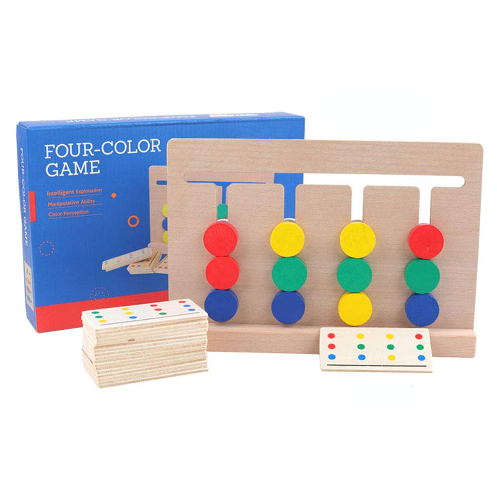 Montessori Color Match Maze Game- Frame by Frame Logic Games Puzzle Toy for Toddlers