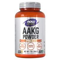 NOW Sports Nutrition, AAKG (Arginine Alpha-Ketoglutarate) Pure Powder, Amino Acid, 7-Ounce
