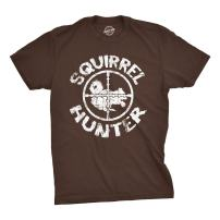 Youth Squirrel Hunter T Shirt Funny Hunting Shirt Squirrels Tee for Kids