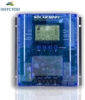 OOYCYOO MPPT Charge Controller 60/80/100 amp, 12V 24V Auto 40/60/80/100A Solar Panel Charge Regulator, Max 100V Input with LCD Display for Lead-Acid Sealed Gel AGM Flooded Lithium Battery (MPPT P40AL)