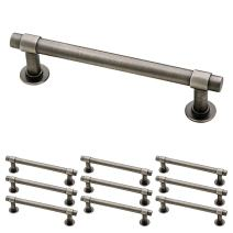 """Franklin Brass P29617K-904-B 4"""" (102mm) Straight Bar Pull, 10-pack, Heirloom Silver, 10 Count"""
