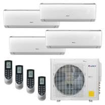 Gree MULTI30CLIV400-30,000 BTU Multi21+ Quad-Zone Wall Mount Mini Split Air Conditioner Heat Pump 208-230V (9-9-9-9)