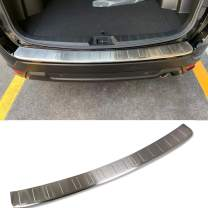 Beautost Fit for Subaru Forester 2019 2020 2021 Rear Outside Bumper Sill Plate Guard Cover Trim Stainless (Silver)