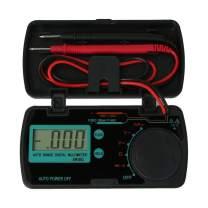 KKmoon Pocket Digital Multimeter, EM3082 Mini Digital Multimeter AC DC Volt AMP OHM LCD Voltmeter Auto Power Off Data