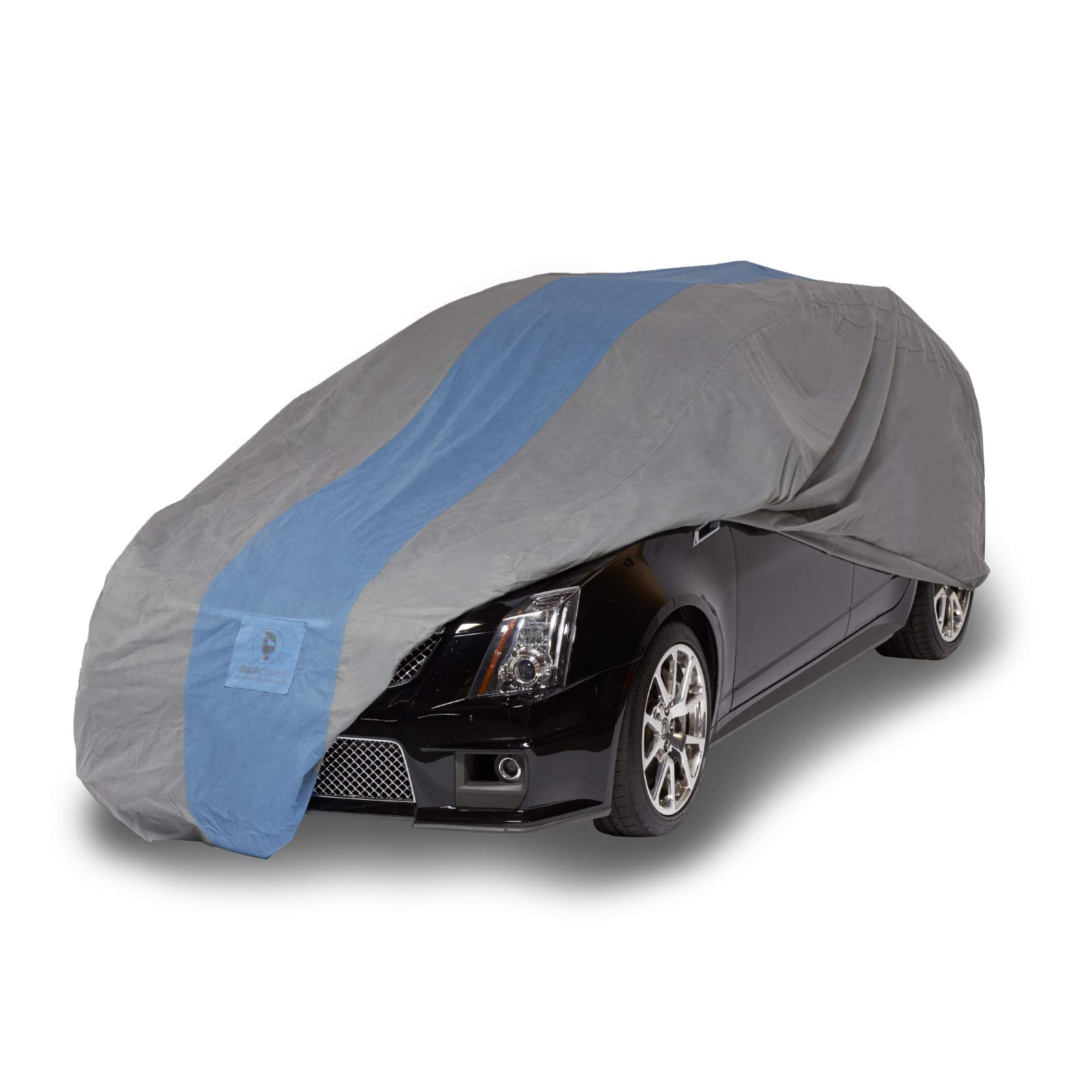 """Duck Covers Defender Station Wagon Cover for Wagons up to 16' 8"""""""