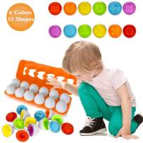 Toys for 1 2 3+ Year Olds-Matching Easter Eggs toys toddler activities montessori toys for toddlers Educational Color & Number Recognition Skills Learning Toy Gifts For Girls kids Toddlers Age 1 2 3 4