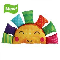 Wee Believers Lil' Prayer Buddy This is The Day Multicolor Musical Singing Sunshine Plush Toy