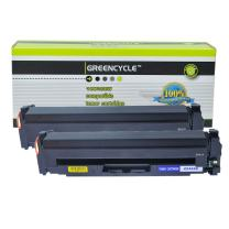 GREENCYCLE High Yield Compatible Toner Cartridge Replacement for CF410X 410X Color Laserjet Pro MFP M477fdn M477fdw M477fnw Laser Printer (2-Pack Black)