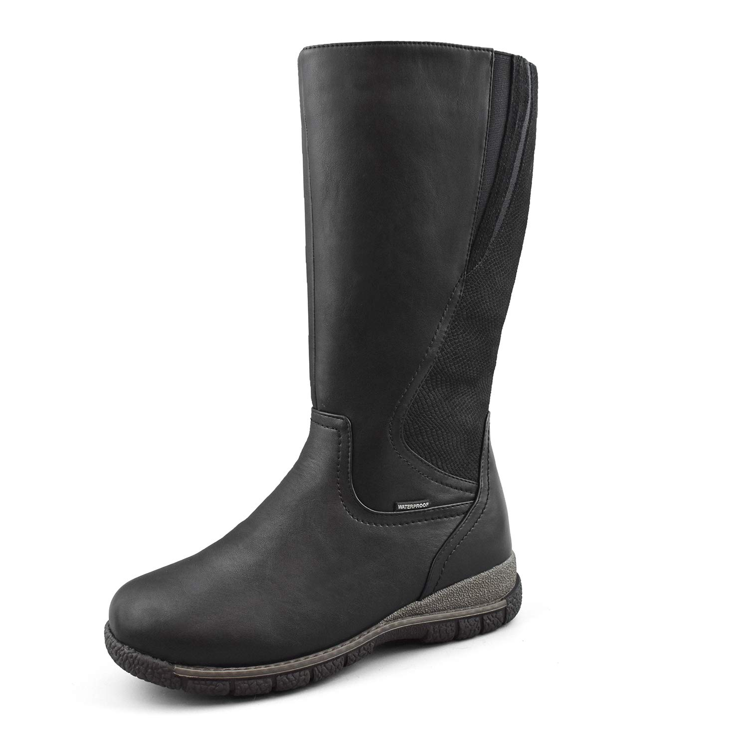 Comfy Moda Women's Waterproof Wool-Lined Cold Weather Boots Alberta