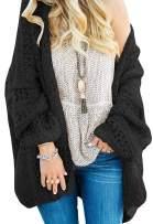 NENONA Women's Open Front Chunky Knit Oversized Boho Popcorn Fuzzy Cardigan Sweaters
