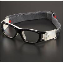 Children Sports Goggles,Kids Basketball Football Sports Anti Shock Collision PC Lens Protective Eye Glasses (Black)
