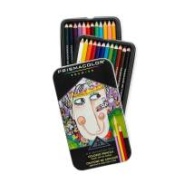 Gift Colors Pencil,Set of 24 Assorted Colors Premier Colored Pencils Soft Core, Artists Ideal Drawing Tools for Painting, Coloring, Sketching, Doodling (24 Piece)