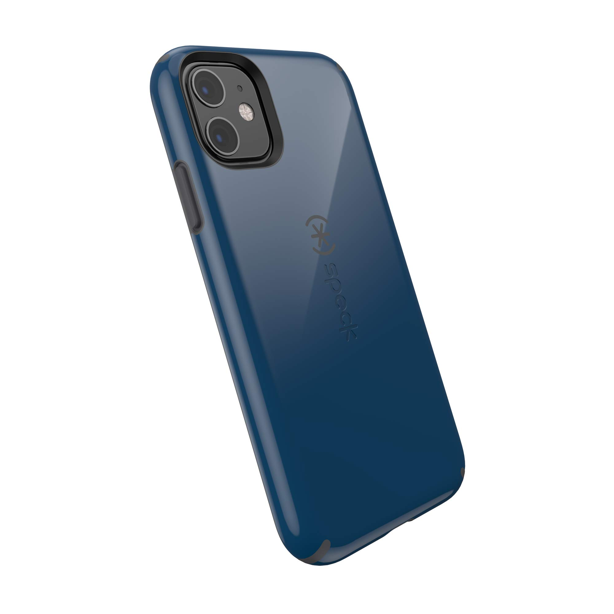 Speck CandyShell iPhone 11 Case, Deep Seal Blue/Slate Grey