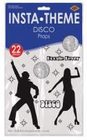 Disco Props Party Accessory (1 count) (22/Pkg)