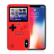 Gameboy Case for iPhone, 3D Retro Handheld Game Console Video Game Cover Case with 36 Games, Full-Color Display for iPhone Xs Max, iPhone8/8 Plus,iPhone 7/7 Plus,iPhone 6/6Plus (iPhone Xs MAX)