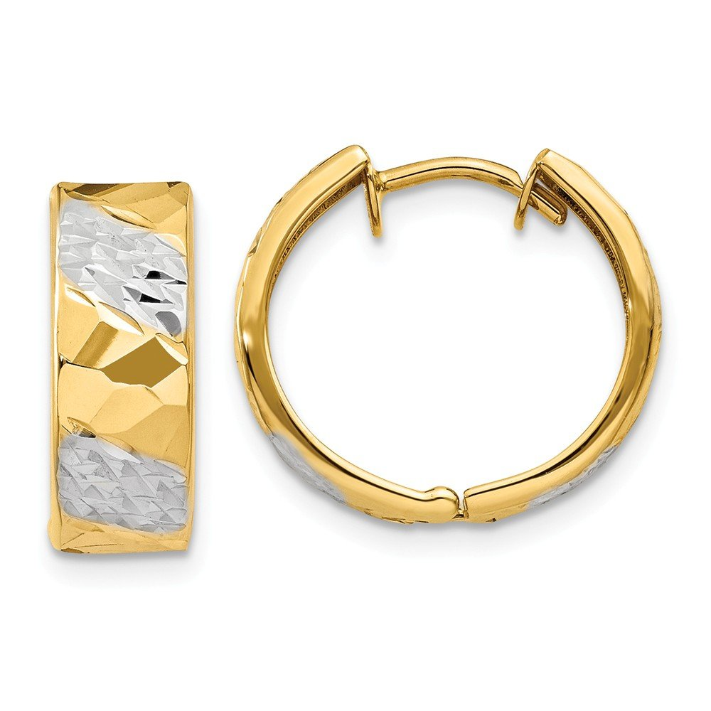 14k Yellow Gold 5mm Hoop Earrings Ear Hoops Set Fine Mothers Day Jewelry For Women Gifts For Her