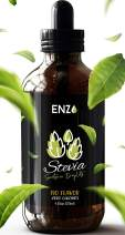 Enzo Stevia Drops 4oz 💦 Clear Original flavor Our Zero Calories All Natural Sweetener Droplets are made with Organic Certified Stevia Extract with No Artificial additives & fillers ingredients added