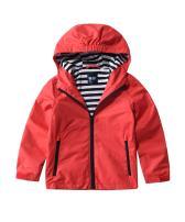 M2C Boys Girls Hooded Windproof Jacket Light Windbreaker