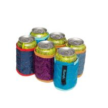 Rumpl The Beer Blanket 6-Pack | Insulated Beverage Sleeves for Cans, Keeps Your Drink Ice Cold | Perfect for Tailgating, BBQ, Weddings, Camping (Last Season)