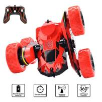 Car Toys for 5-10 Year Old Boys JoyJam RC Stunt Car Off Road RC Cars for Kids and Adults 2.4Ghz Remote Control Truck High Speed Racing Car for Girls 360 Degree Rolling Rotation Christmas Birthday Gift
