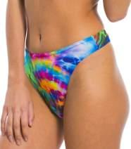 Kiniki Storm Tan Through Bikini Thong Bottom