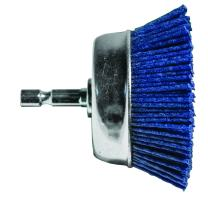 "Century Drill & Tool 77233 Fine Nylon Abrasive Cup Brush, 3"""