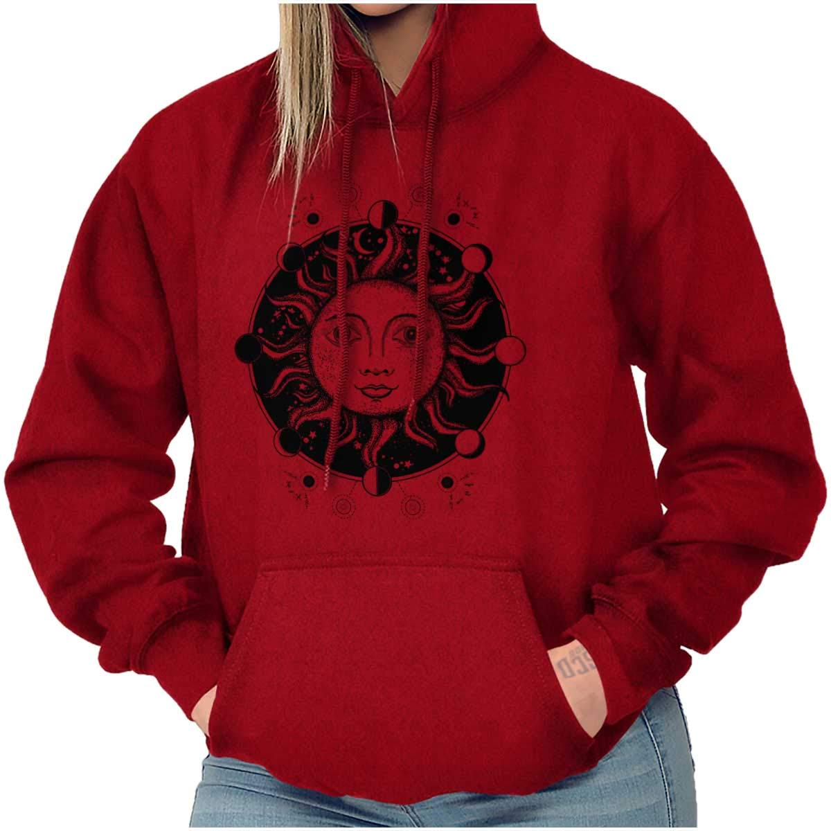Celestial Sun Symbolic Cool Spirit Animal Hoodie