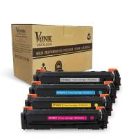 V4INK Remanufactured 501A Q6472A Toner Cartridge-Yellow for Color LJ 3600/3800 Series