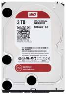 """WD Red 3TB NAS Internal Hard Drive - 5400 RPM Class, SATA 6 Gb/s, CMR, 64 MB Cache, 3.5"""" - WD30EFRX (Old Version)"""